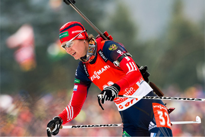 Союз биатлонистов России подтвердил имя пойманной на допинге спортсменки