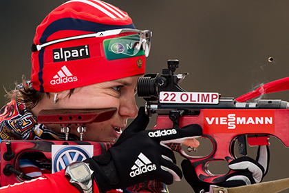 Российские биатлонистки выиграли эстафету на этапе Кубка мира