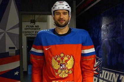Российский хоккеист пришел на тренировку клуба НХЛ в форме сборной