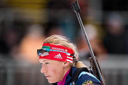 Зайцева заняла 59-е место в гонке на этапе Кубка мира по биатлону