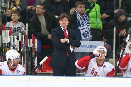 Хоккейный «Витязь» уволил главного тренера