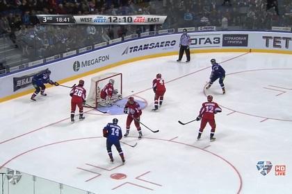 Сборная Запада впервые победила Восток в матче звезд КХЛ