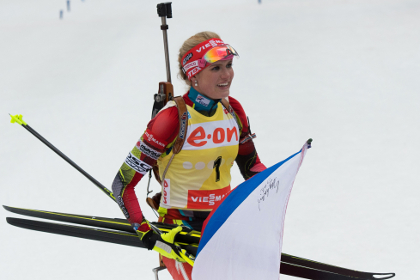 Россиянки не вошли в десятку на этапе Кубка мира по биатлону