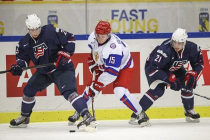 Российские хоккеисты вышли в полуфинал молодежного чемпионата мира