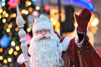 Дед Мороз купил билет на Игры в Сочи