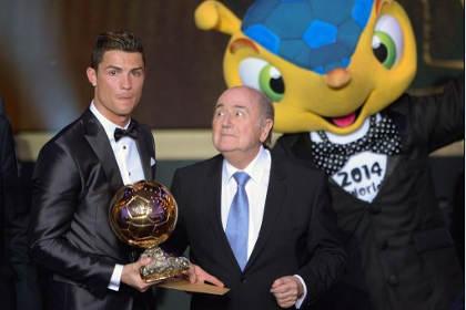 Роналду получил второй «Золотой мяч»