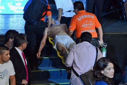 У мексиканского боксера после нокаута диагностировали смерть мозга