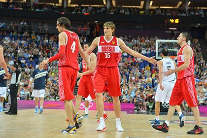 Сборная России пропустит ЧМ-2014 по баскетболу