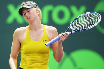 Шарапова опустилась на девятое место в рейтинге WTA