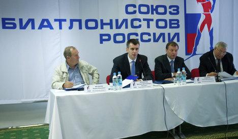 Объявлен конкурс на замещение должностей тренеров сборных России по биатлону