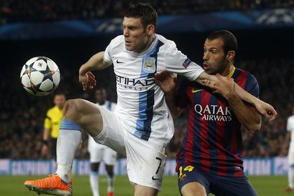 «Барселона» выбила «Манчестер Сити» из Лиги чемпионов