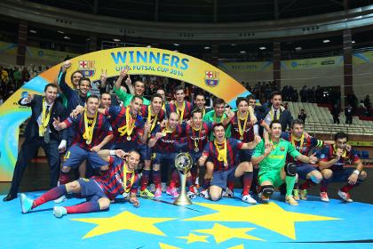 «Барселона» обыграла московское «Динамо» в матче за Кубок УЕФА