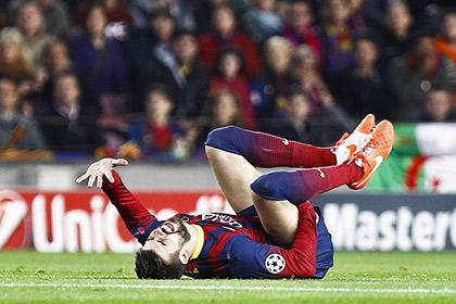 Херард Пике получил травму в игре с «Атлетико»