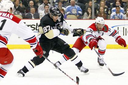 Кросби первым в сезоне НХЛ набрал 100 очков