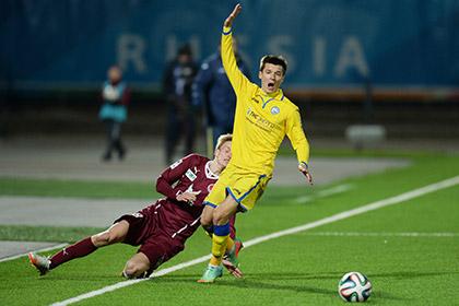 «Рубин» опротестует удаление голкипера в матче премьер-лиги