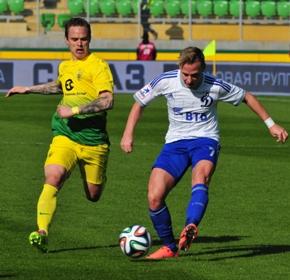 «Анжи» обыграл «Динамо» со счетом 4:0