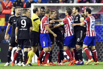 Встреча «Челси» и «Атлетико» завершилась нулевой ничьей