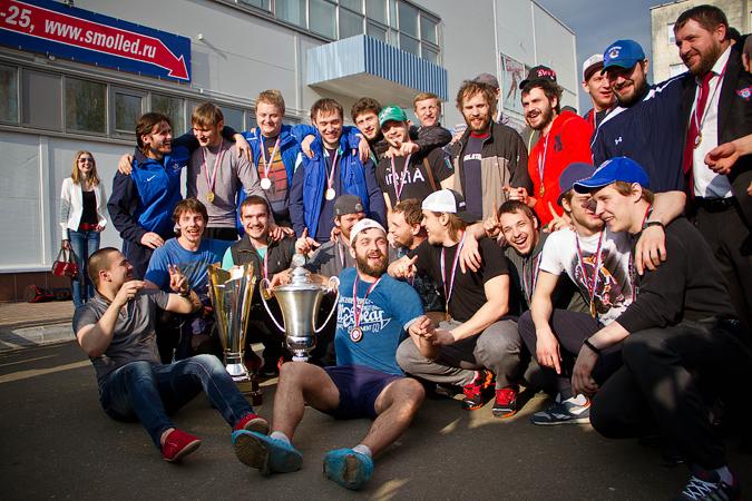 «Славутич» вернулся в Смоленск с победой