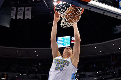 Мозгов повторил личный рекорд результативности в НБА