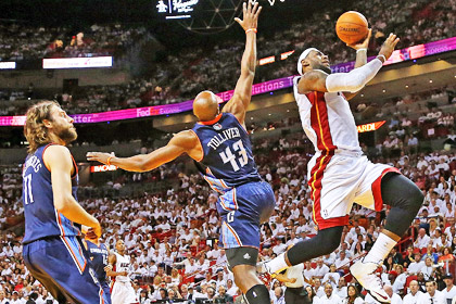 «Майами» победил на старте плей-офф НБА