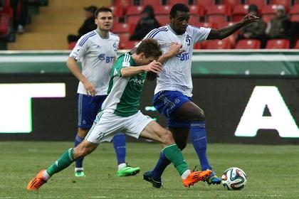 Эффектный гол Маурисио принес «Тереку» победу над «Динамо»