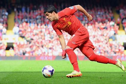Луис Суарес признан лучшим игроком года в Англии
