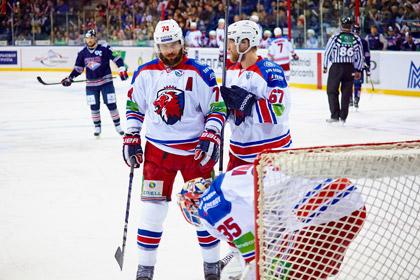 Хоккеисты «Льва» выйдут на лед усатыми