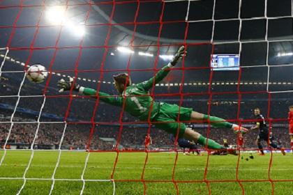 «Атлетико» и «Бавария» вышли в полуфинал Лиги чемпионов