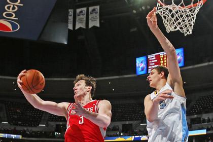 Мозгов в четвертый раз в сезоне НБА набрал больше 20 очков за игру