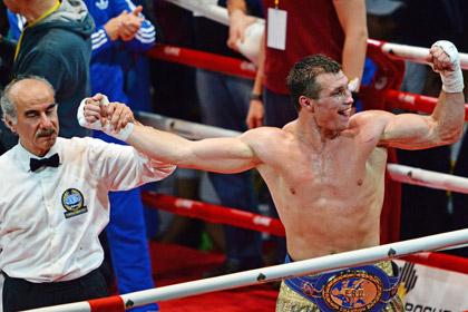 Российский боксер анонсировал чемпионский бой