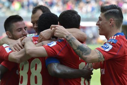 ЦСКА догнал «Локомотив» в чемпионате России