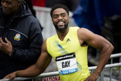 Спринтера Гэя лишили серебра Олимпиады из-за допинга