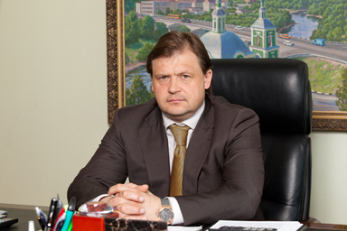 Президент смоленского «Славутича» Максим Шкадов сыграл в хоккей против Владимира Путина