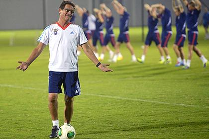 Фабио Капелло простудился за пять дней до товарищеского матча сборной России