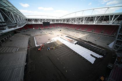 Мутко проверит новый стадион «Спартака» 3 июля