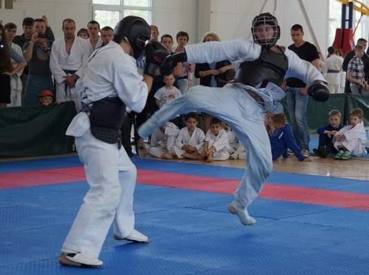 В Смоленске выступили мастера восточных боевых единоборств