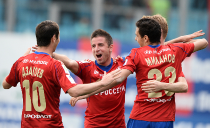 ЦСКА возглавил чемпионат России за тур до финиша