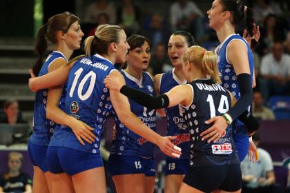 Российские волейболистки впервые выиграли клубный чемпионат мира