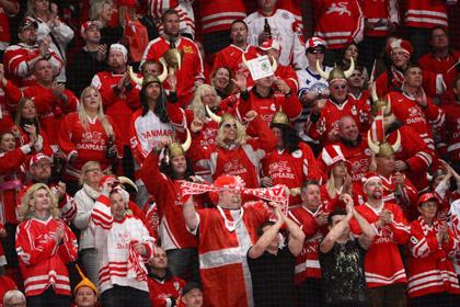 Дания впервые примет ЧМ по хоккею в 2018 году