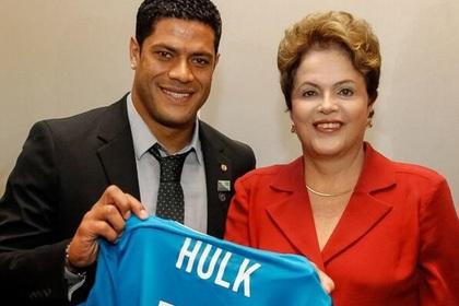 Халк подарил президенту Бразилии футболку «Зенита»