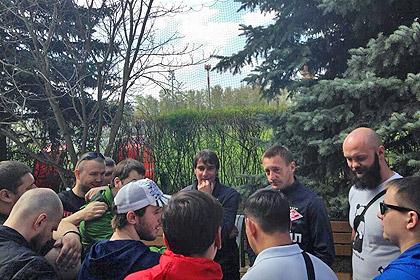 Футболисты «Спартака» встретились с болельщиками