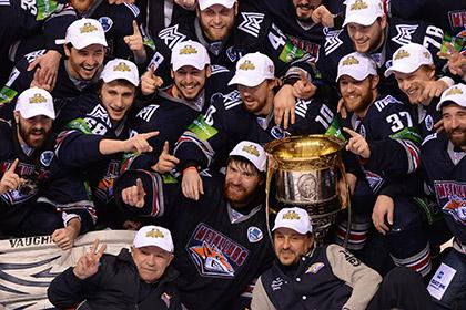 «Металлург» впервые выиграл Кубок Гагарина