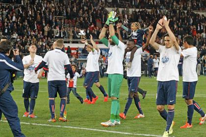 ПСЖ выиграл чемпионат Франции