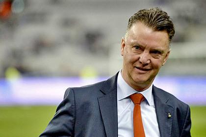 Луи ван Галь решил возглавить «Манчестер Юнайтед»