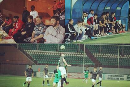 Кадыров подарил футболистам первенства Чечни по 10 тысяч долларов