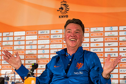 Луи ван Гал возглавил «Манчестер Юнайтед»