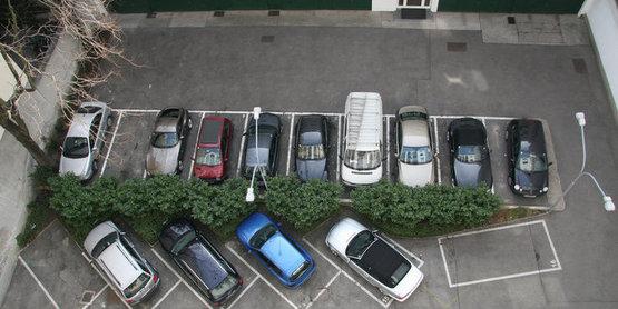 Стоянка автомобиля