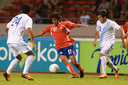 Названный в честь Ельцина футболист сыграет за сборную Коста-Рики на ЧМ-2014