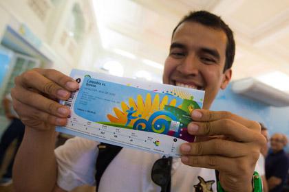 180 тысяч билетов на ЧМ по футболу поступят в продажу 4 июня