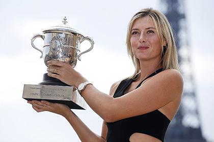 Шарапову признали лучшей теннисисткой мая